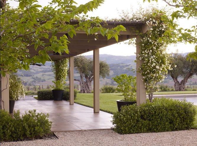Pergola Northern California Landscaping Andrea Cochran Landscape Architecture San Francisco, CA