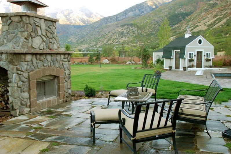 Outdoor Fireplace Cedar Hills Ut Photo Gallery