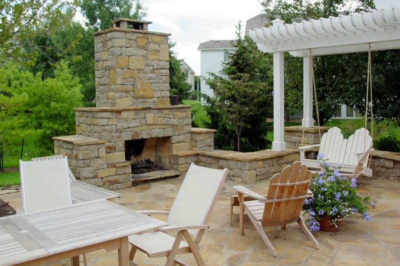 Outdoor Fireplace Overland Park Ks Photo Gallery Landscaping