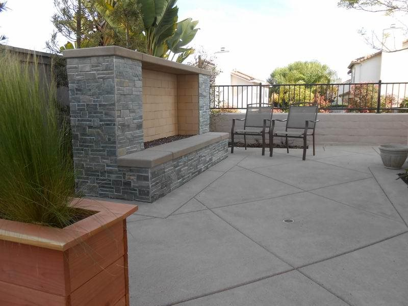 Modern Outdoor Fireplace, No Chimney Outdoor Fireplace Quality Living  Landscape San Marcos, CA - Outdoor Fireplace Pictures - Gallery - Landscaping Network
