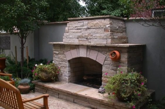 outdoor fireplace centennial co photo gallery