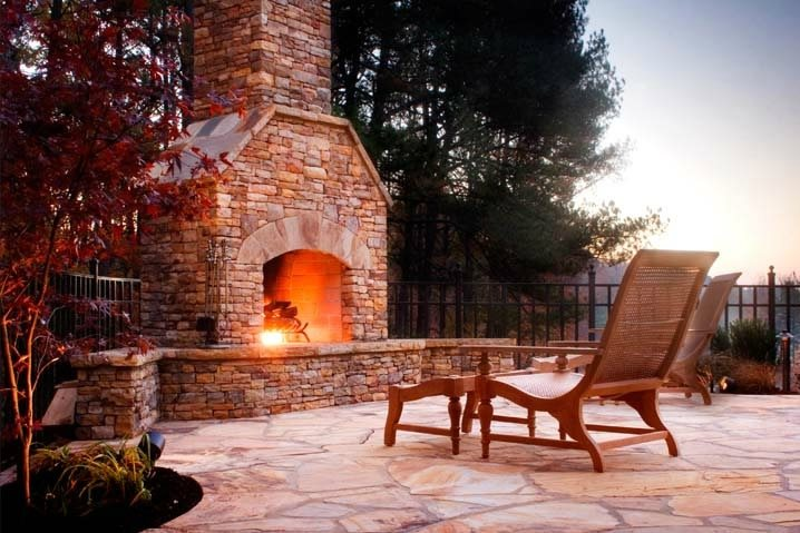 Outdoor Fireplace - Duluth, GA - Photo Gallery ...