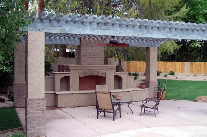 Outdoor Fireplace Wood Boxes Outdoor Fireplace Unique Landscapes by Griffin Mesa, AZ
