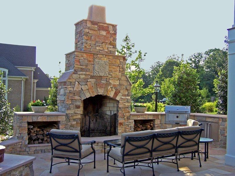 Outdoor Fireplace Fairfax Va Photo Gallery