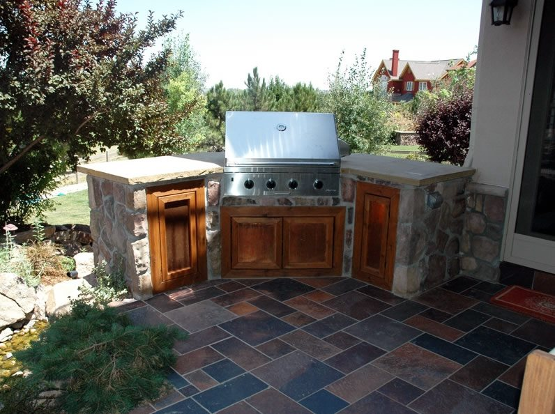 Outdoor kitchen boulder co photo gallery landscaping network - Kitchen design boulder ...