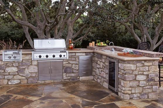 Outdoor Kitchen Eldorado Stone San Marcos, CA