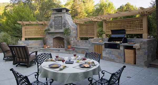 Outdoor kitchen novato ca photo gallery landscaping for Luxury landscape design