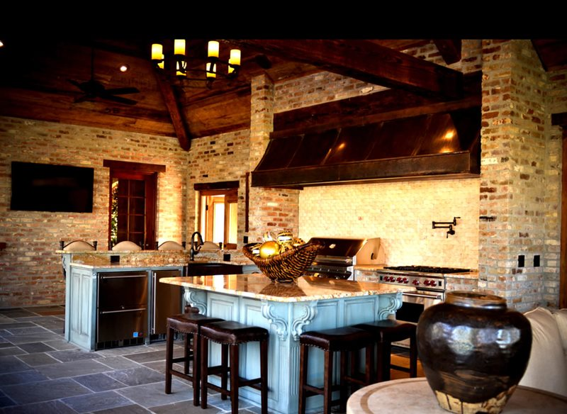 Outdoor kitchen baton rouge la photo gallery for Luxury outdoor kitchen