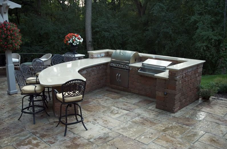 Outdoor Kitchen New Berlin Wi Photo Gallery