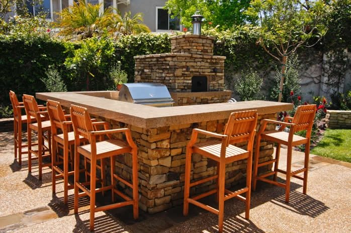 Outdoor kitchen capistrano beach ca photo gallery - Outdoor kitchen pizza oven design ...