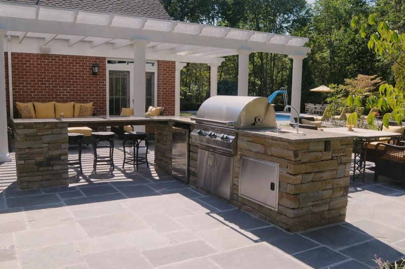Stainless Steel Outdoor Kitchen Appliances Outdoor Kitchen Brown Design  Group New Stanton, PA Part 38