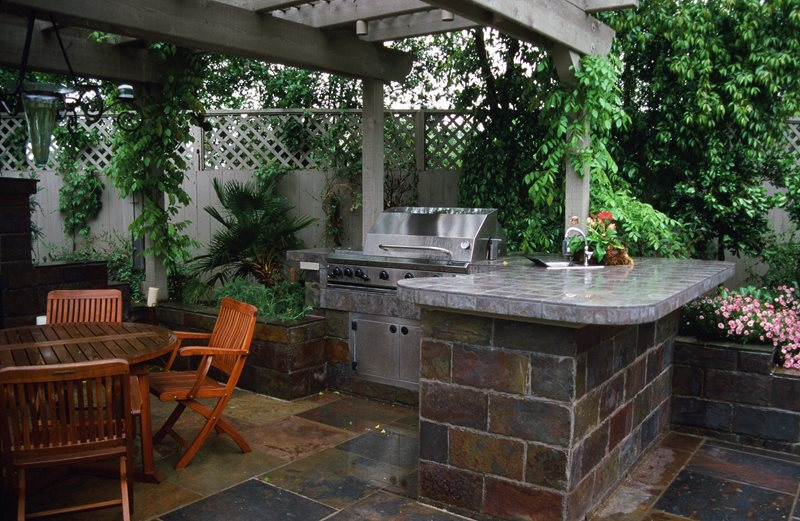 Outdoor Kitchen Morongo Valley Ca Photo Gallery