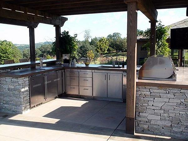 U-Shaped Outdoor Kitchen Kalamazoo Outdoor Gourmet Kalamazoo, MI