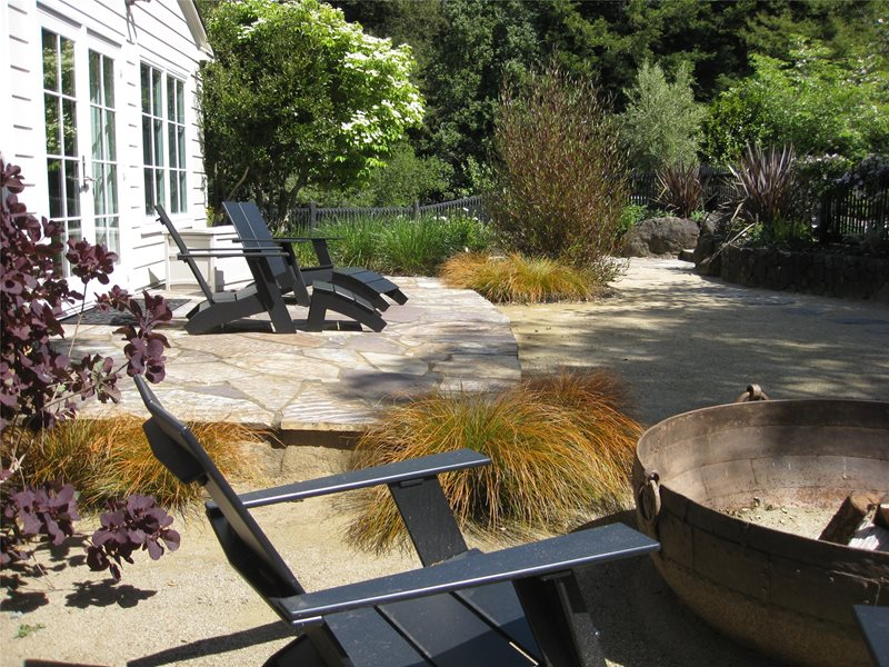 Three Rivers Flagstone Patio Dig Your Garden Landscape Design San Anselmo, CA