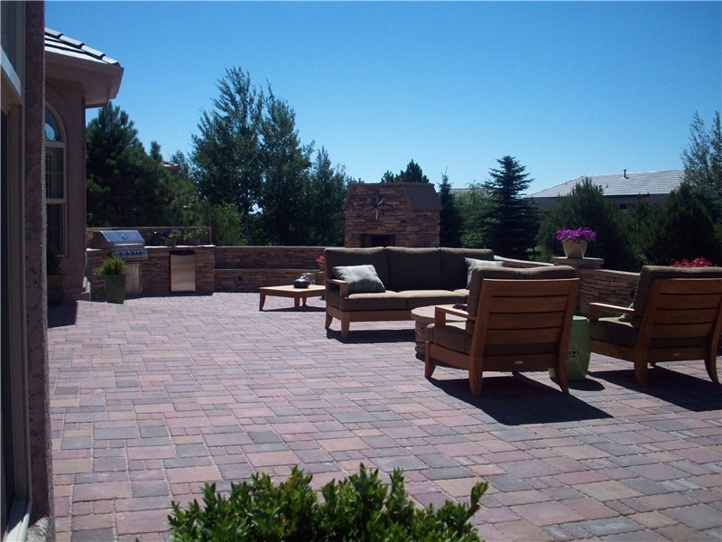 Paver Patio Green Scapes Landscaping Colorado Springs, CO