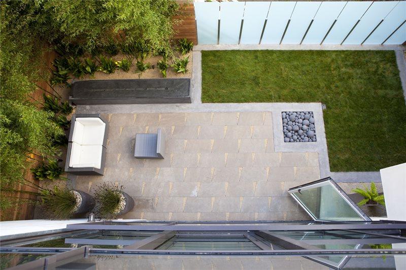 Paver Patio Shades of Green Landscape Architecture Sausalito, CA