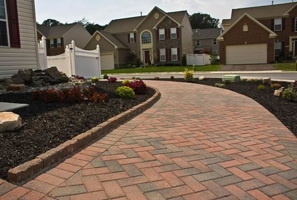 Paver Walkway Designs Mesmerizing Paver Walkway Pictures  Gallery  Landscaping Network