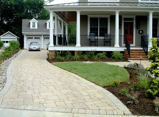 Driveway Paving Stones, Light Colors Paver StoneScapes Design Hanover, MD