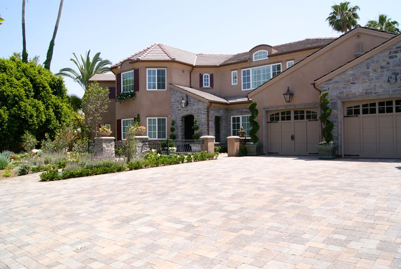 Paver Driveway Paver Landscaping Network Calimesa, CA