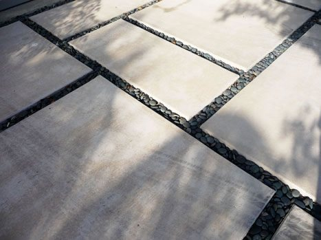 Black White Paving Paving Kiesel Design Ventura, CA