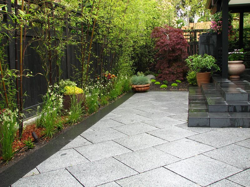 Cut Granite Pavers, Set On A Bias Paving Stock & Hill Landscapes, Inc Lake Stevens, WA