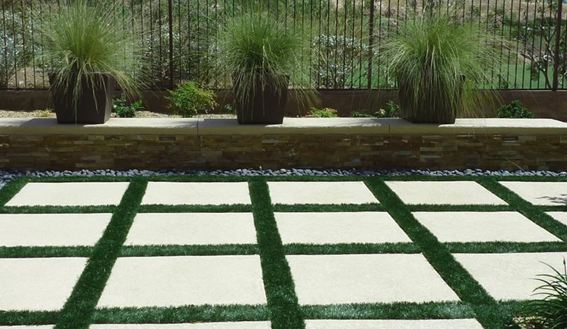 Oversized Pavers, Concrete Pavers, Artificial Turf Paving Chip N Dales Landscaping  Las