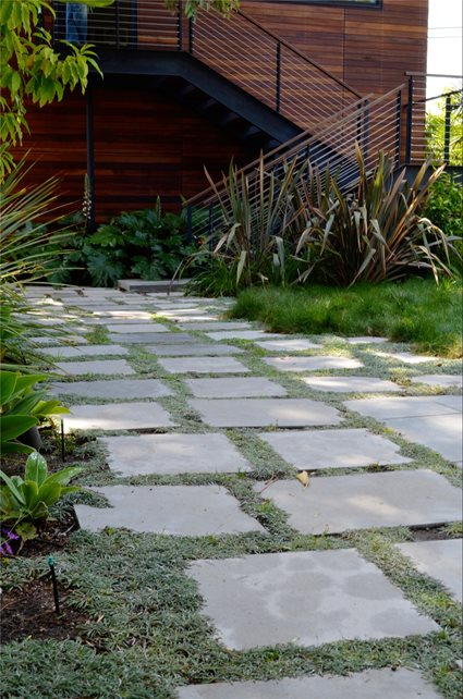 Walkway, Pavers, Groundcover Paving Landscaping Network Calimesa, CA