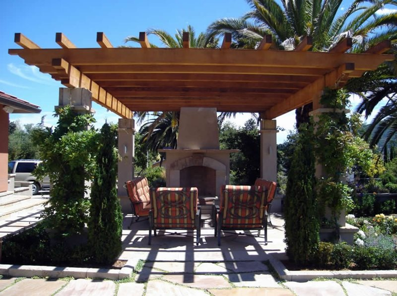Pergola And Patio Cover Richmond Ca Photo Gallery Landscaping Network