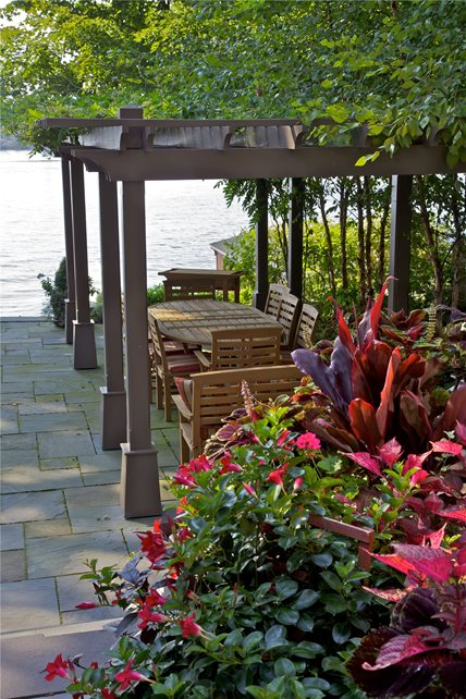 Pergola and Patio Cover - Syracuse NY - Photo Gallery - Landscaping Network