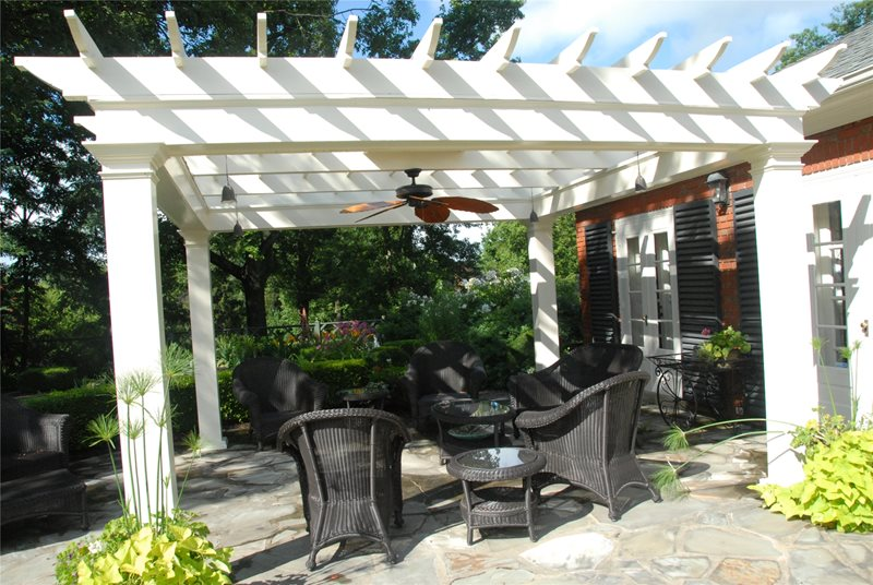 Colonial Pergola Pergola and Patio Cover Inside Out Design, LLC Frankfort, KY