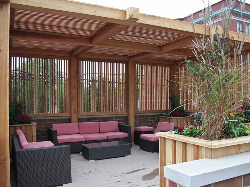 pergola and patio cover chicago il photo gallery landscaping network. Black Bedroom Furniture Sets. Home Design Ideas