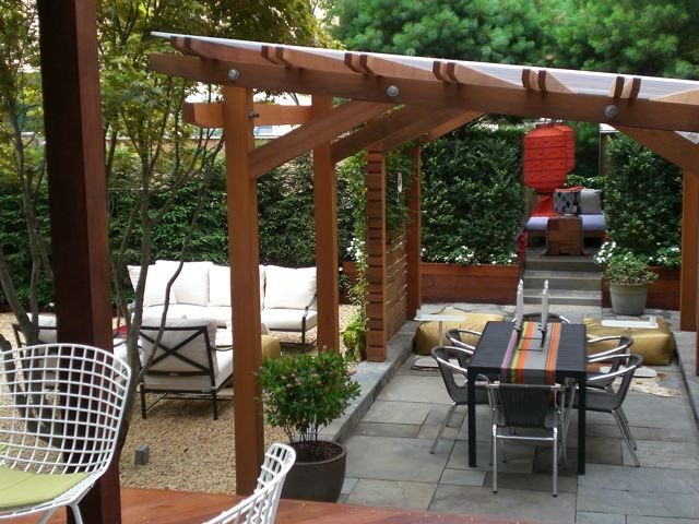 Pergola and Patio Cover Mickael David Pelow Gardens Queens, NY
