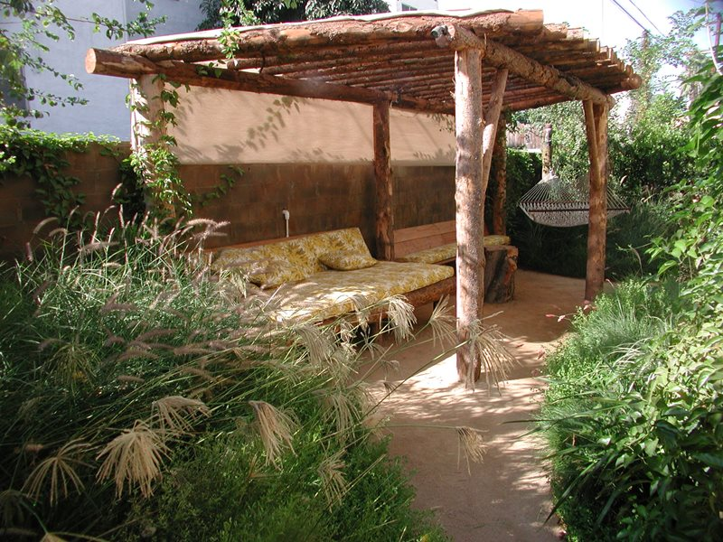 Natural Log Pergola Pergola And Patio Cover Stout Design Build Los Angeles,  CA