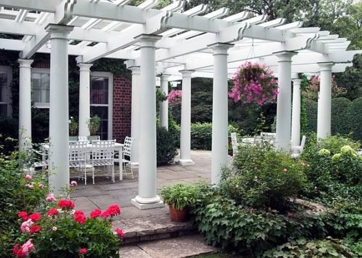 Patio Cover Columns Pergola and Patio Cover Barkley Landscapes & Design Group Minneapolis, MN