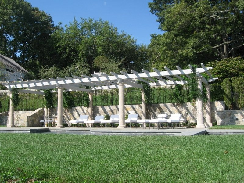 Pergola Pergola and Patio Cover Classic Masonry Ltd. Putnam Valley, NY