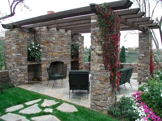 Pergola and patio cover ammon id photo gallery for Find local garden designers