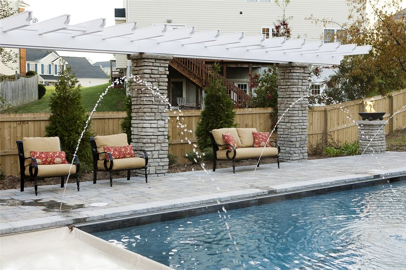 Pool Pergola Pergola and Patio Cover Mid Atlantic Enterprise Inc Williamsburg, VA