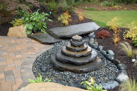 Pond and waterfall leominster ma photo gallery for Home garden pond design