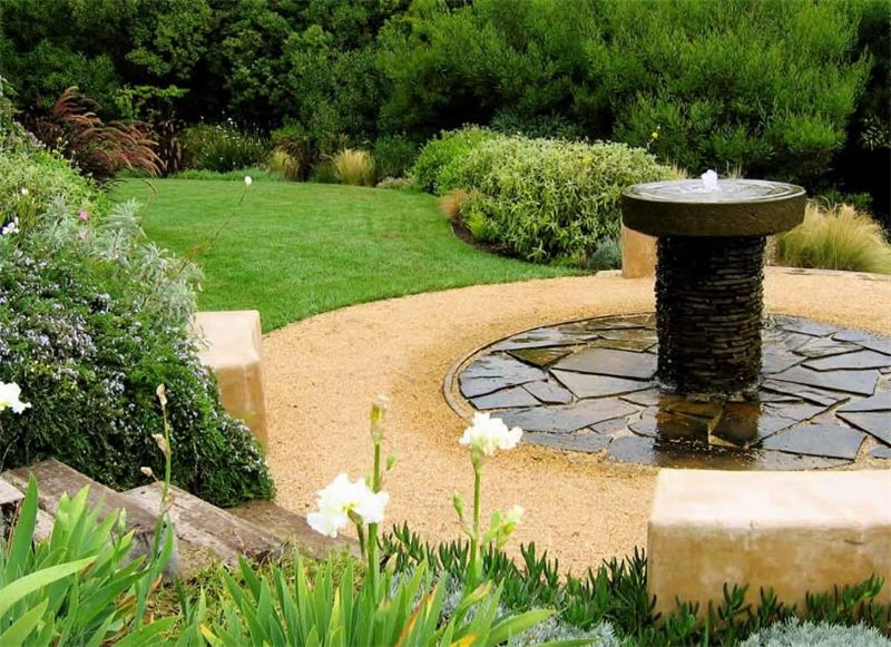 Pond and waterfall los angeles ca photo gallery for Find local garden designers