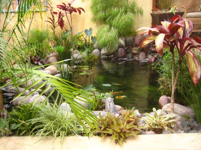 Pond Pond and Waterfall Landscaping Network Calimesa, CA