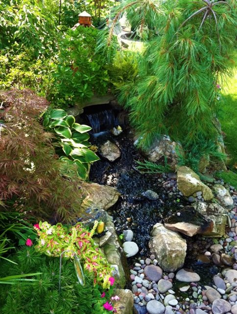 pond and waterfall massapequa ny photo gallery landscaping
