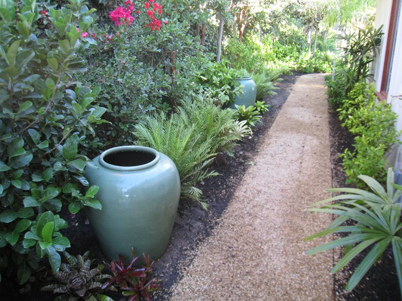 Decomposed Granite Path, Tropical Plants Recently Added Down to Earth  Landscapes Santa Barbara, CA - Recently Added - Santa Barbara, CA - Photo Gallery - Landscaping Network