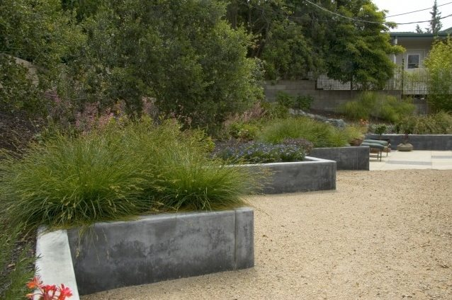Retaining and Landscape Wall Jeffrey Gordon Smith Landscape Architecture Los Osos, CA