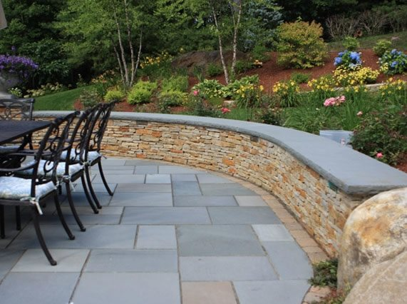 Retaining And Landscape Wall Georgetown Ma Photo
