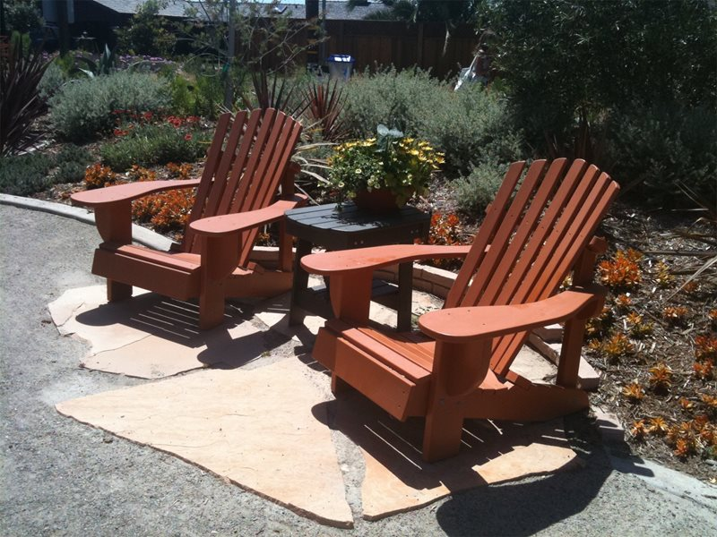 Outdoor Seating Area Seating Area Landscaping Network Calimesa, CA