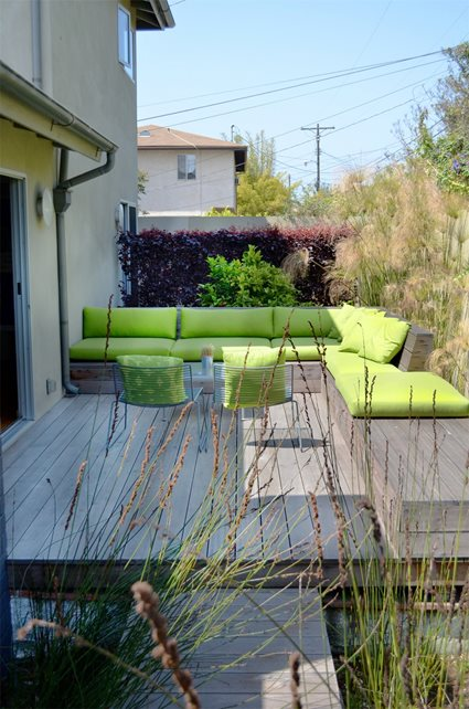 Patio, Sofa, Small Yard Seating Area Landscaping Network Calimesa, CA