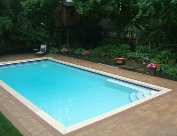 Paver Pool Deck Eastside Landscaping South Euclid, OH