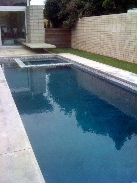 Simple Pool Design Landscaping Network Calimesa, CA