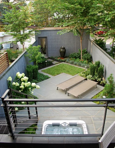 Small Yard Landscaping Mesmerizing Small Yard Landscaping Pictures  Gallery  Landscaping Network Decorating Inspiration