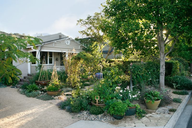 Beautiful Southern California Front Yard Landscaping Ideas Part - 6: Front Yard Edible Garden Southern California Landscaping Grace Design  Associates Santa Barbara, CA